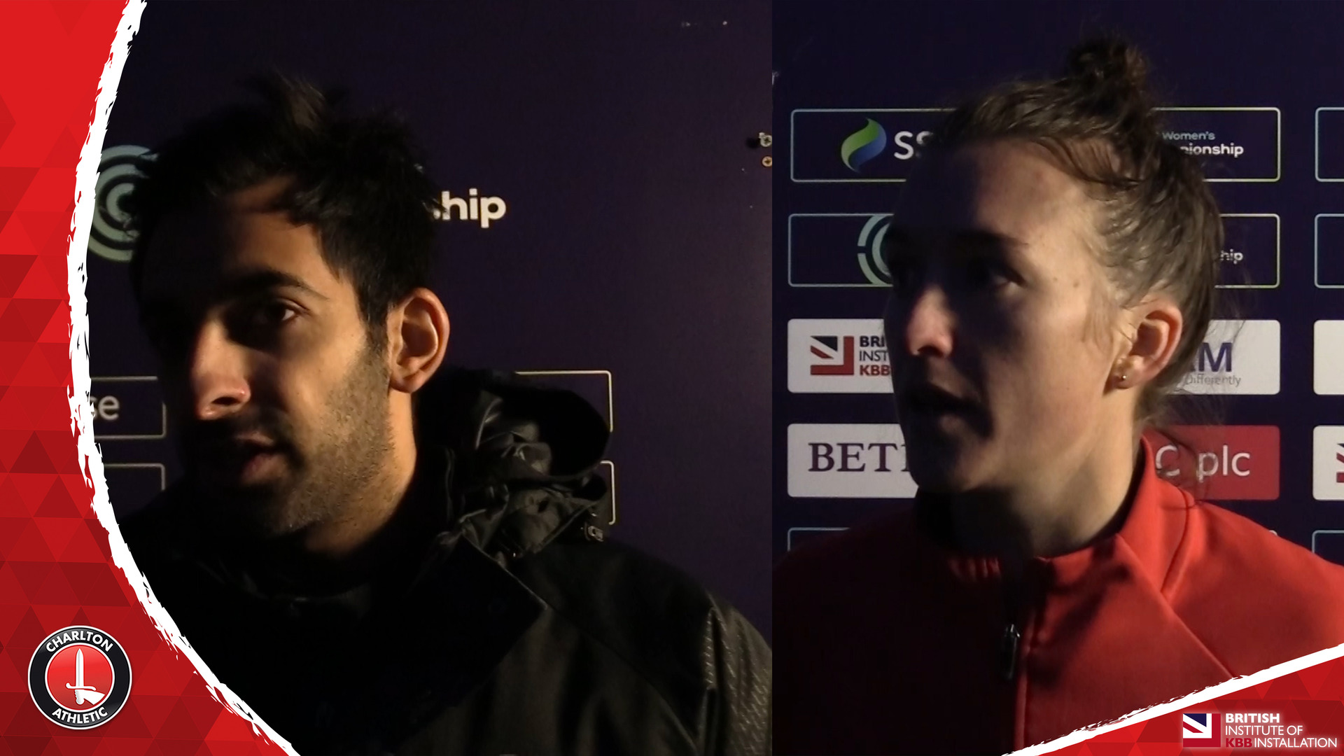 WOMEN'S REACTION | Amber Stobbs and Riteesh Mishra pleased with Crystal Palace victory
