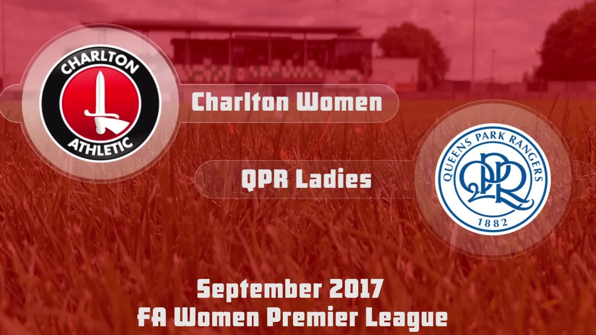 HIGHLIGHTS | Charlton Women 7 QPR Ladies 0