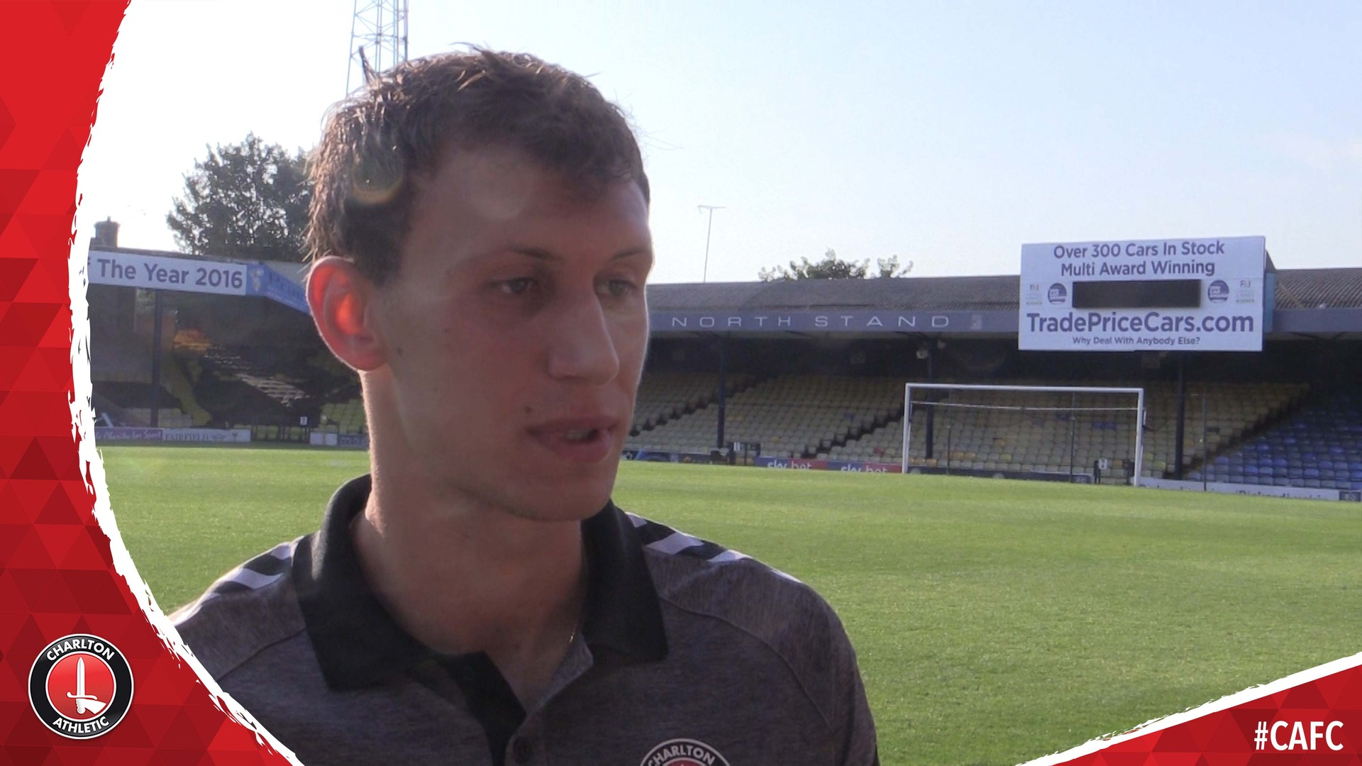 Krystian Bielik chats after bagging Charlton's winner at Southend United