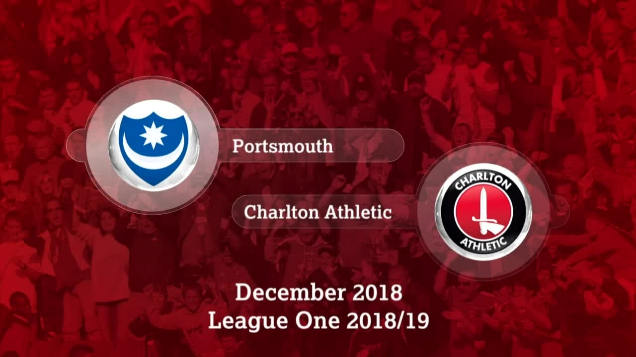 GOALS | Portsmouth 1 Charlton 2 (December 2018)