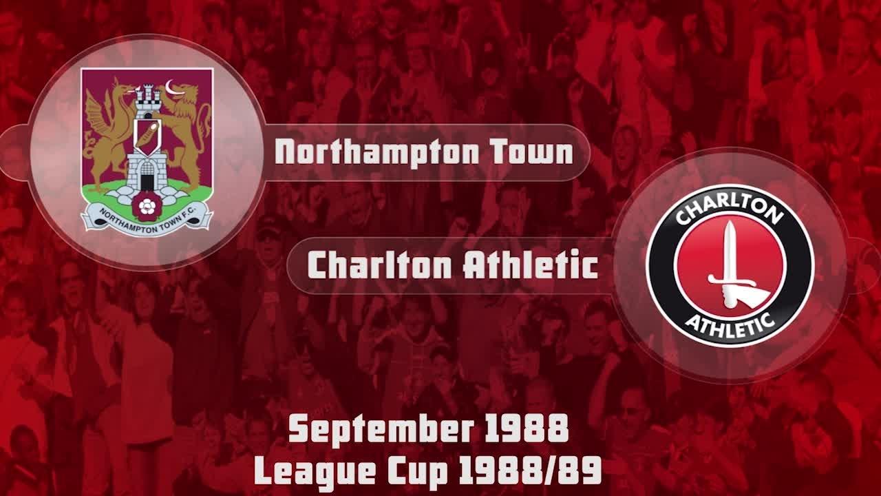 06 HIGHLIGHTS | Northampton 1 Charlton 1 (League Cup Sept 1988)