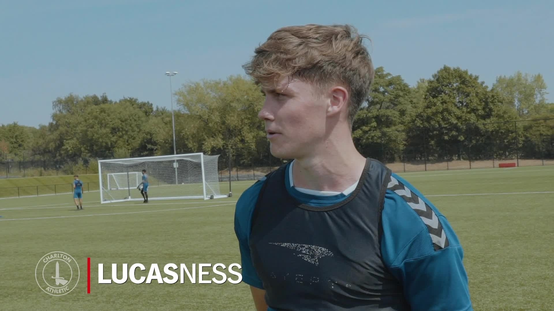 Lucas Ness on joining the Charlton academy (August 2020)