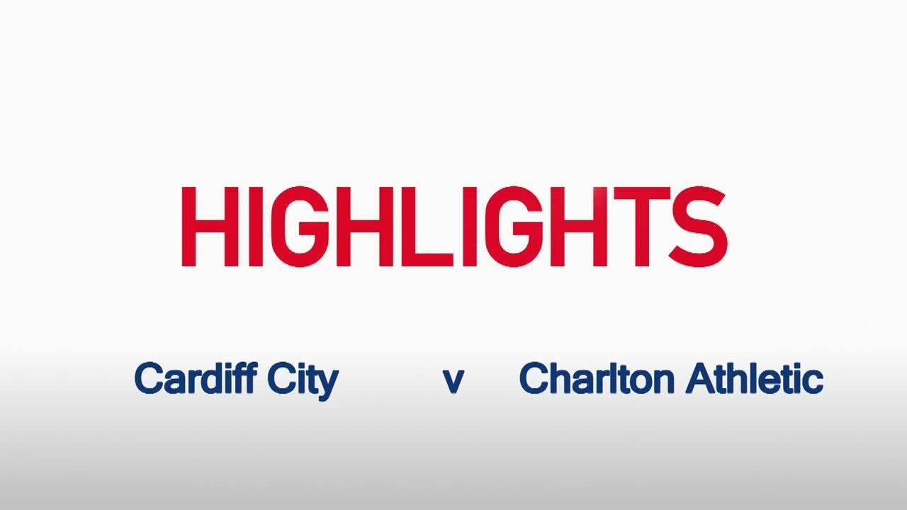 12 HIGHLIGHTS |  Cardiff City 2 Charlton 1 (Sept 2015)