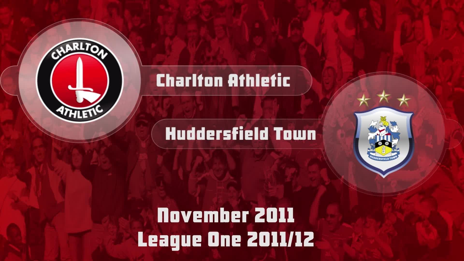 23 HIGHLIGHTS | Charlton 2 Huddersfield 0 (Nov 2011)