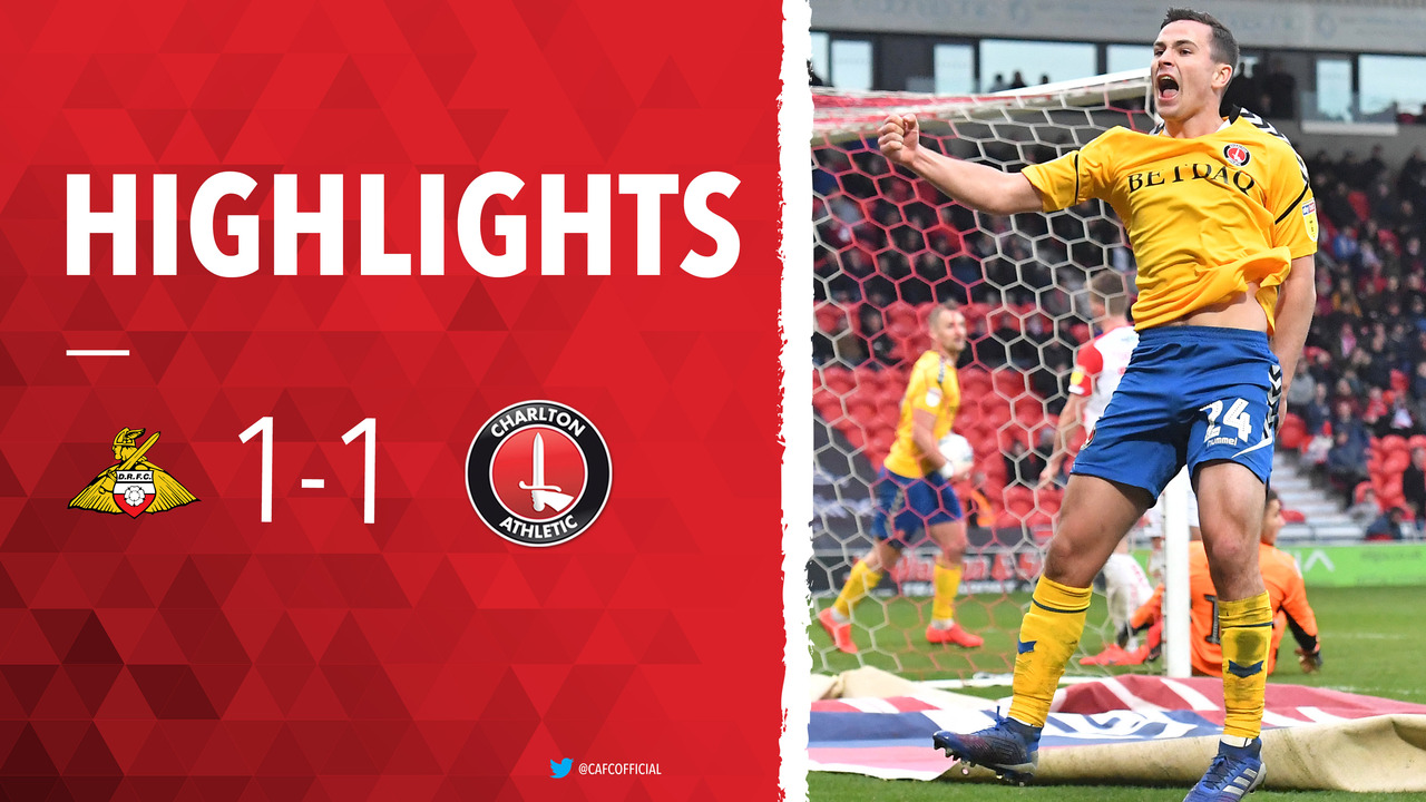 42 HIGHLIGHTS | Doncaster Rovers 1 Charlton 1 (March 2019)