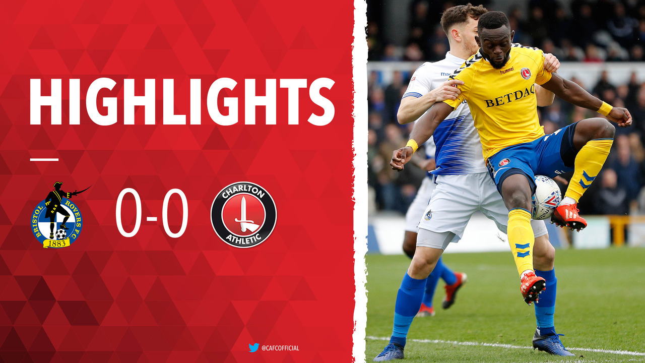 45 HIGHLIGHTS | Bristol Rovers 0 Charlton 0 (March 2019)