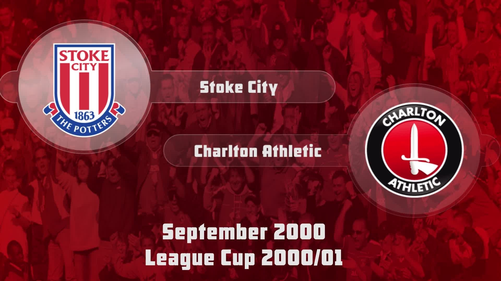 07 HIGHLIGHTS | Stoke City 2 Charlton 1 (League Cup Sept 2000)
