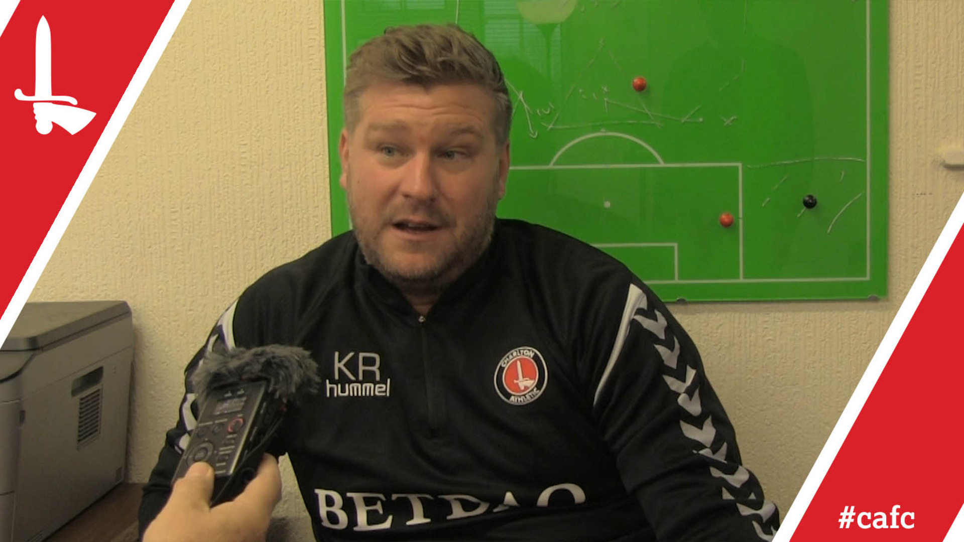 Karl Robinson's pre-Bury press conference