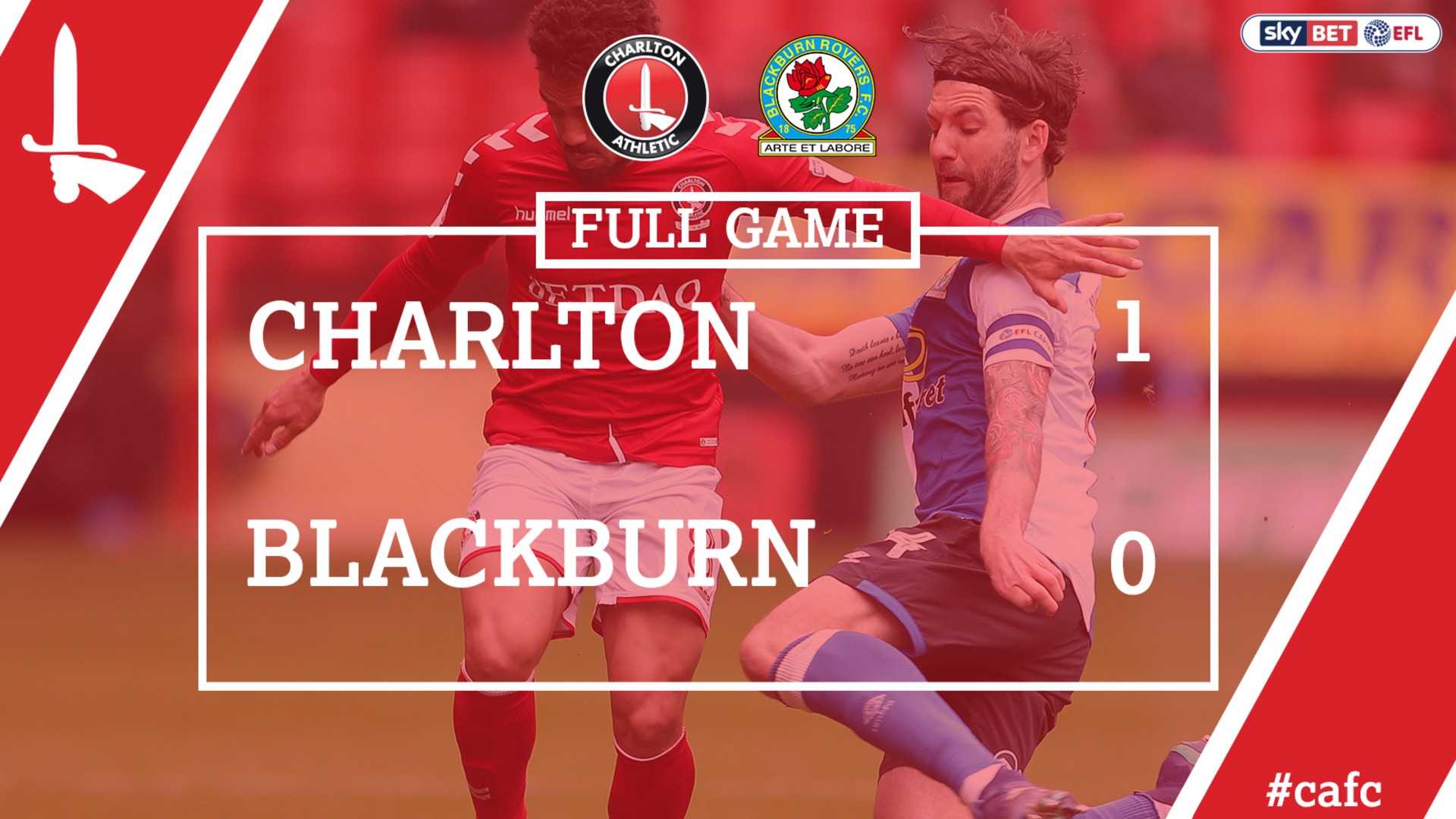 FULL GAME | Charlton 1 Blackburn 0 (April 2018)