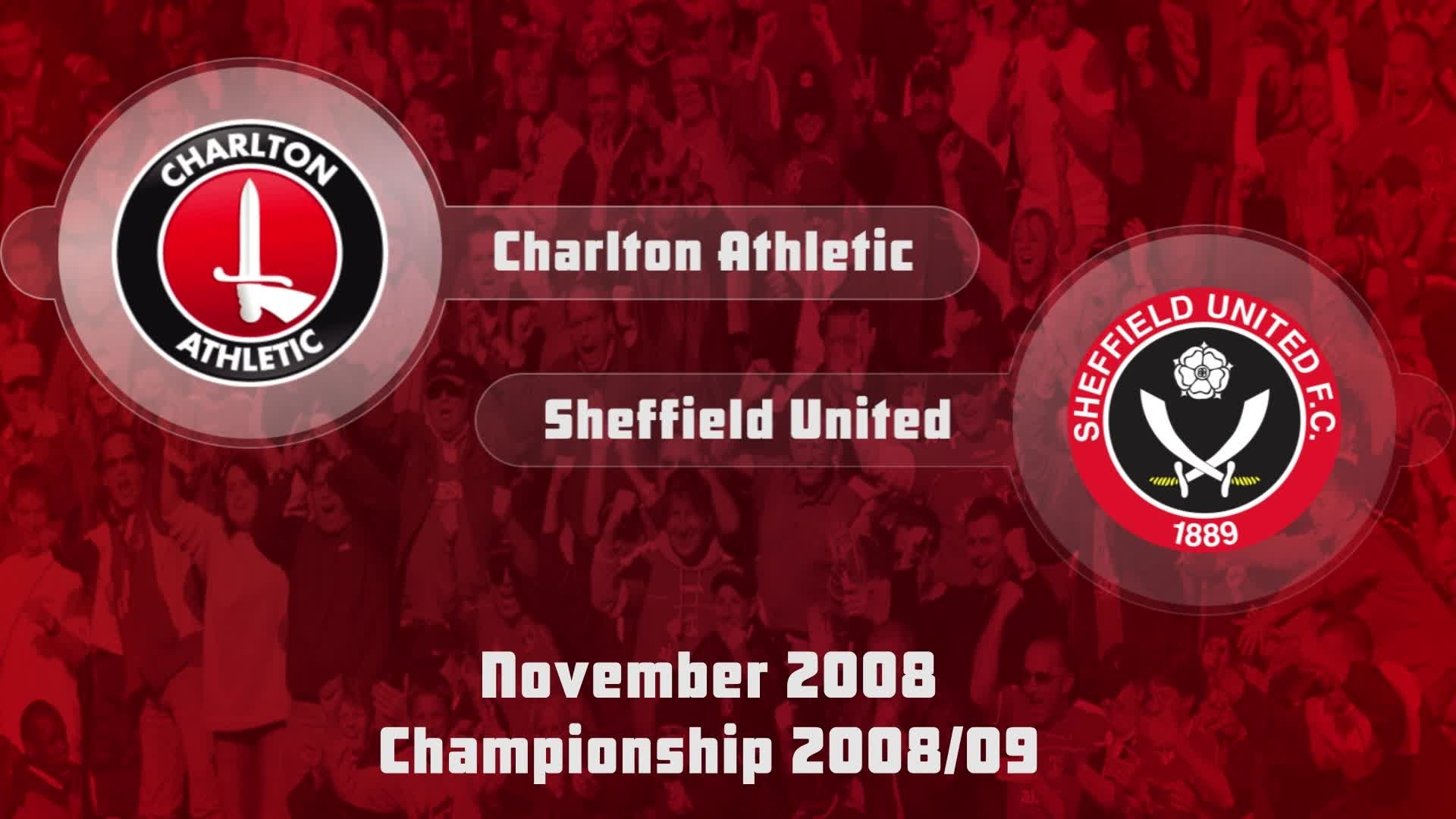 19 HIGHLIGHTS | Charlton 2 Sheffield United 5 (Nov 2008)