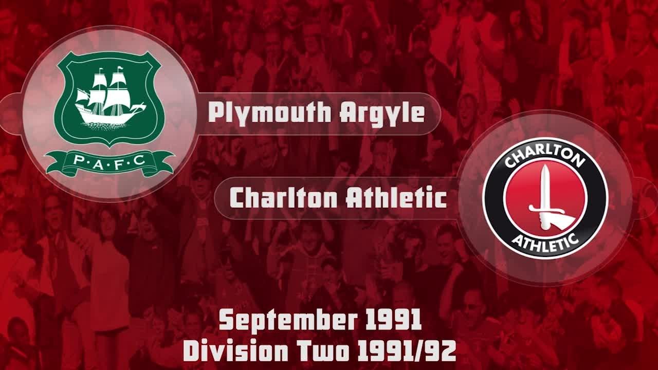 07 HIGHLIGHTS   Plymouth 0 Charlton 2 (Sept 1991)