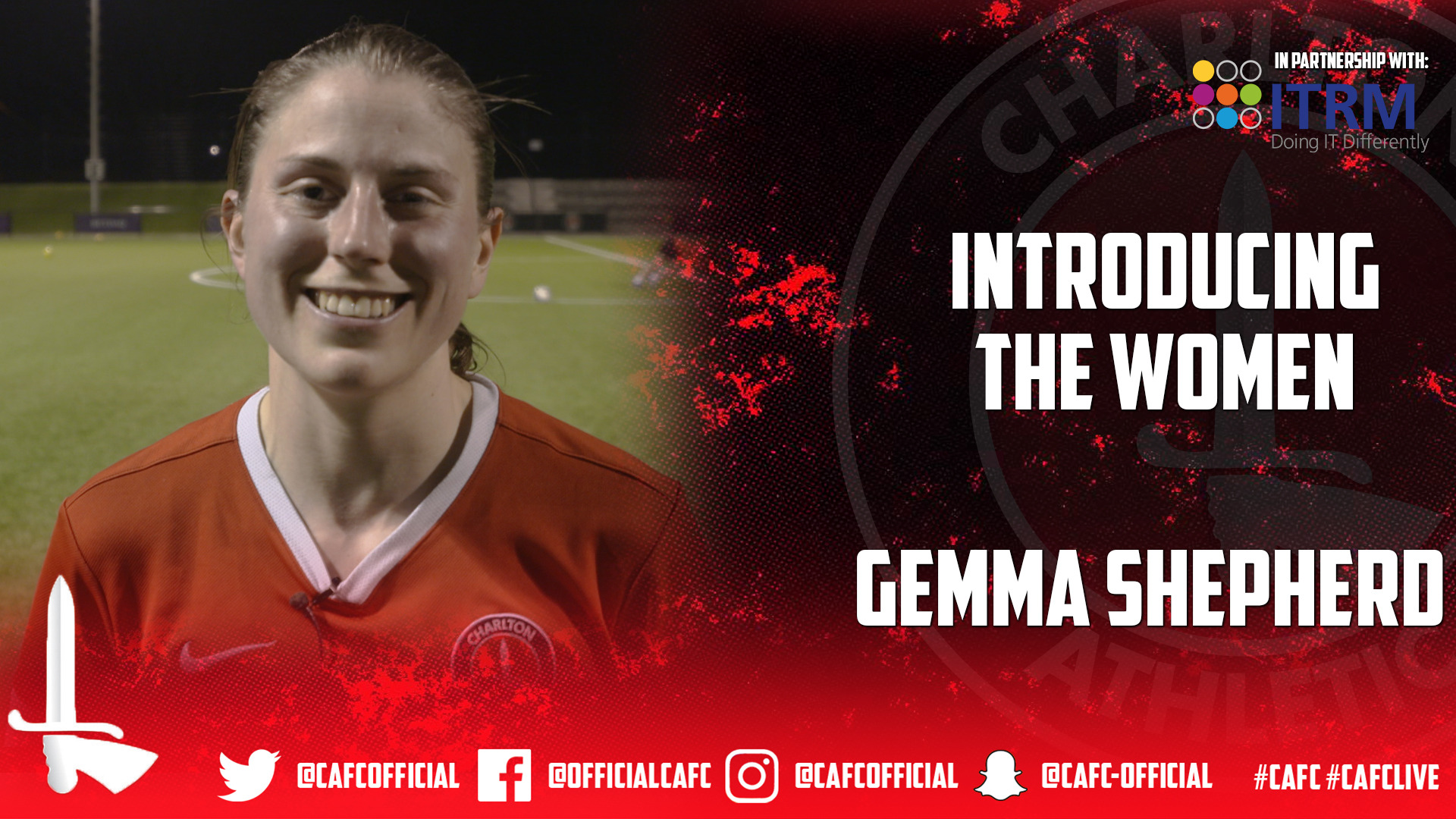 INTRODUCING THE WOMEN | Gemma Shepherd
