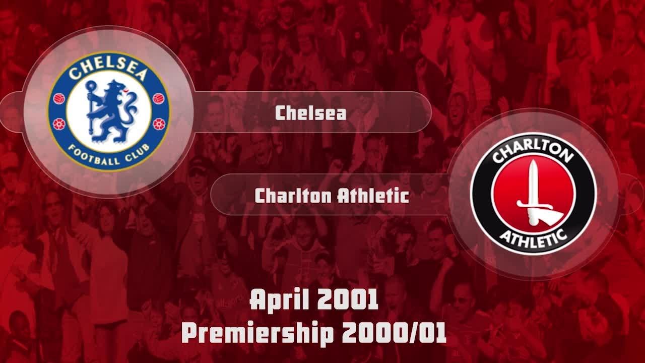 40 HIGHLIGHTS | Chelsea 0 Charlton 1 (April 2001)