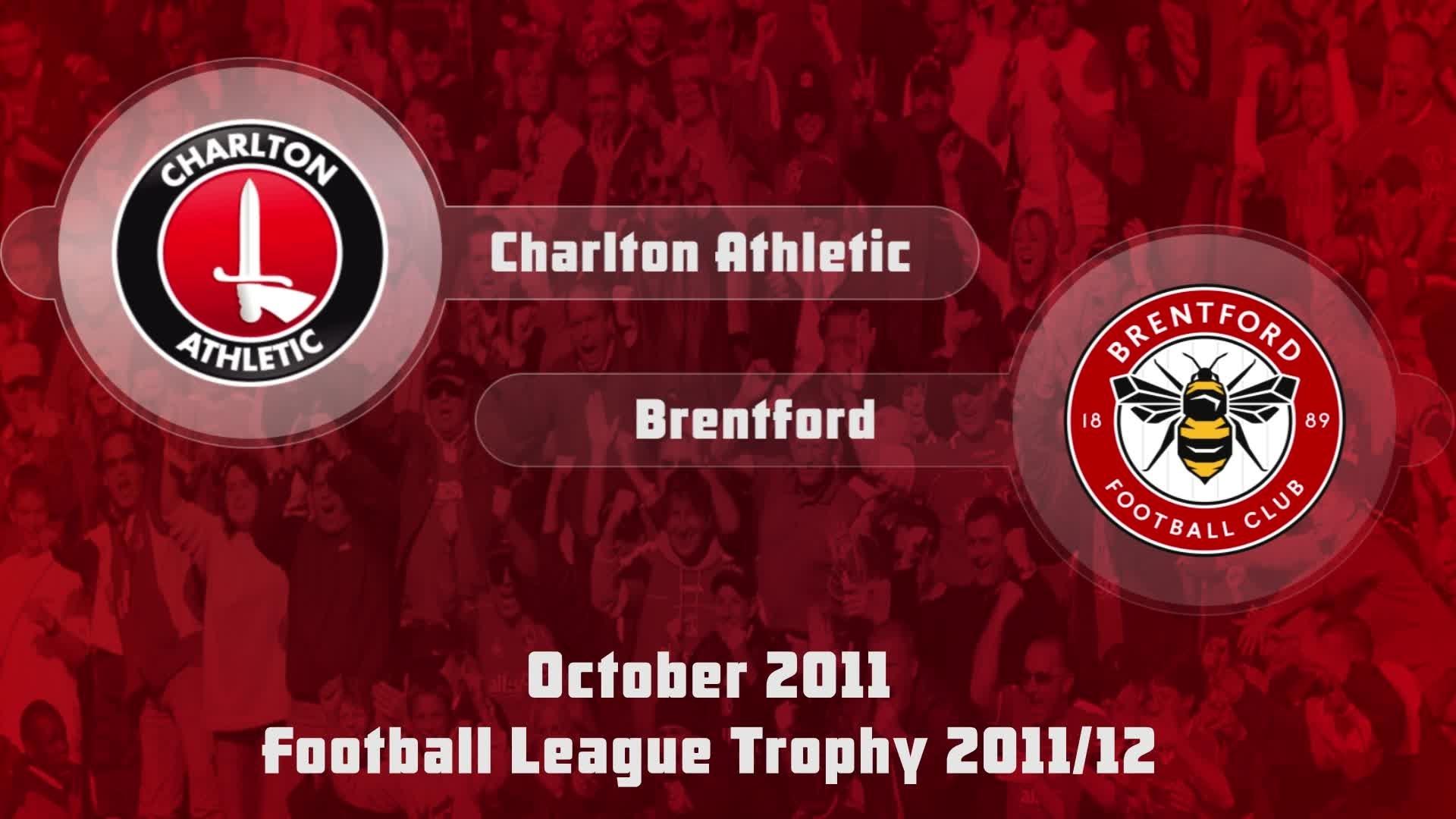 14 HIGHLIGHTS | Charlton 0 Brentford 3 (Oct 2011)