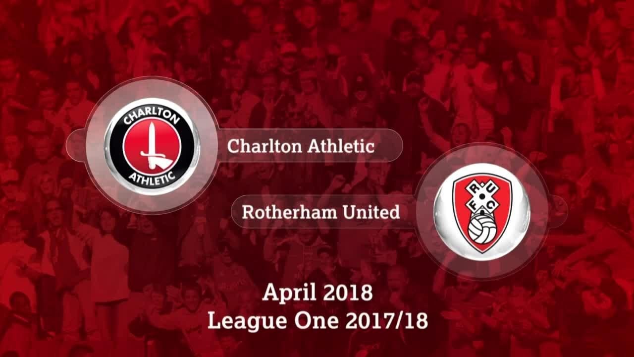 GOALS | Charlton 3 Rotherham 1 (April 2018)
