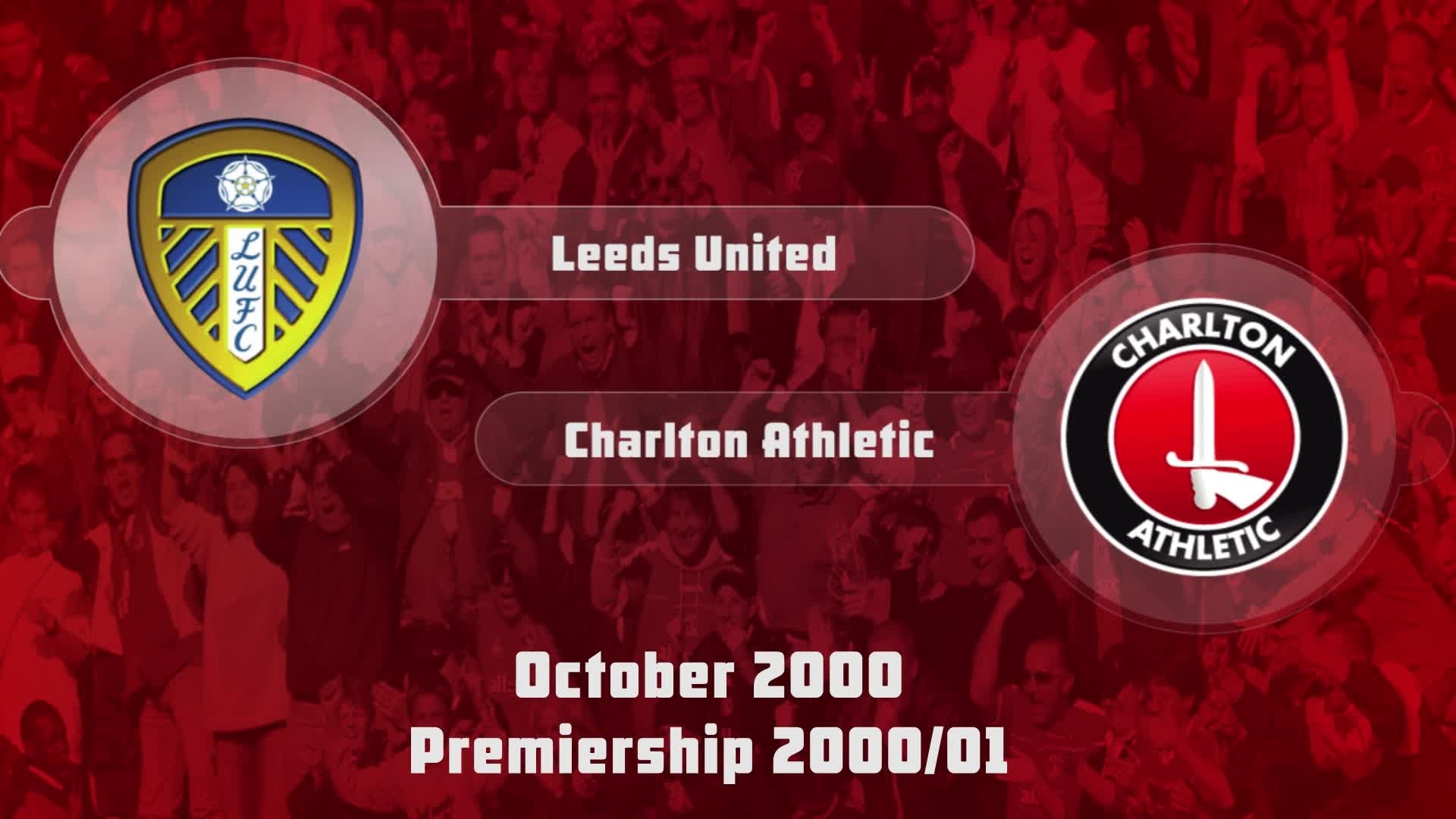 11 HIGHLIGHTS | Leeds United 3 Charlton 1 (Oct 2000)