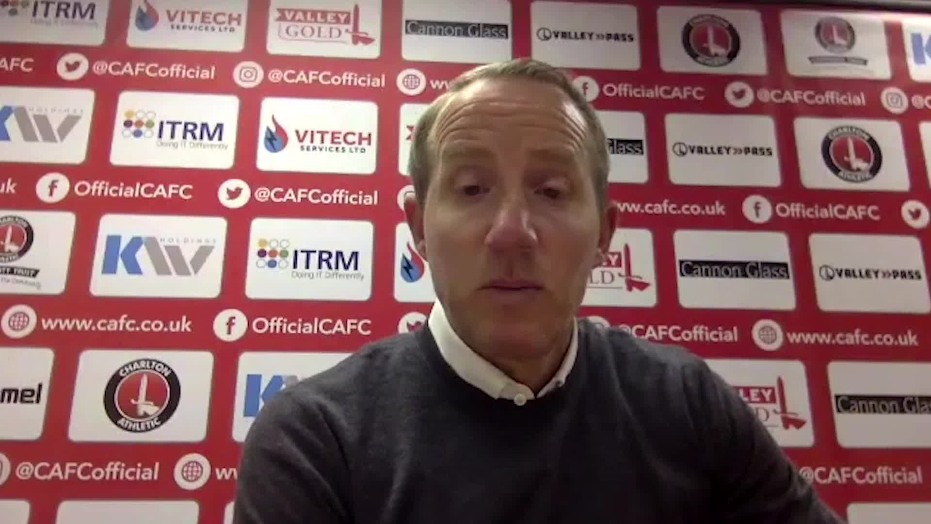 Lee Bowyer post-Oxford United press conference (October 2020)