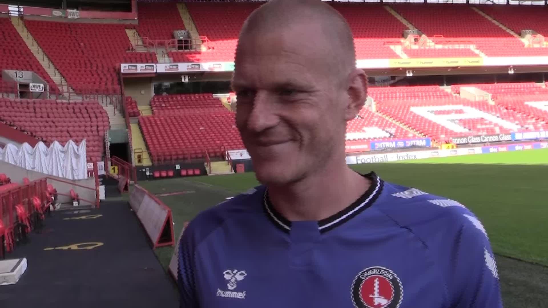 Ben Watson's first interview as a Charlton player (September 2020)