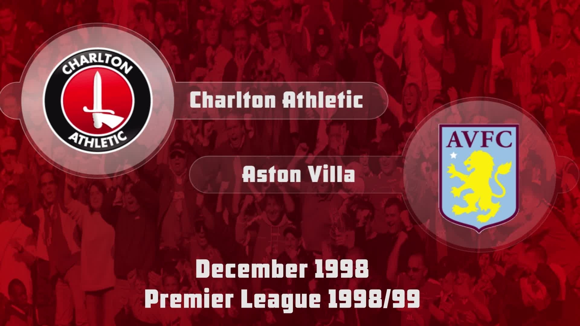 21 HIGHLIGHTS | Charlton 0 Aston Villa 1 (Dec 1998)