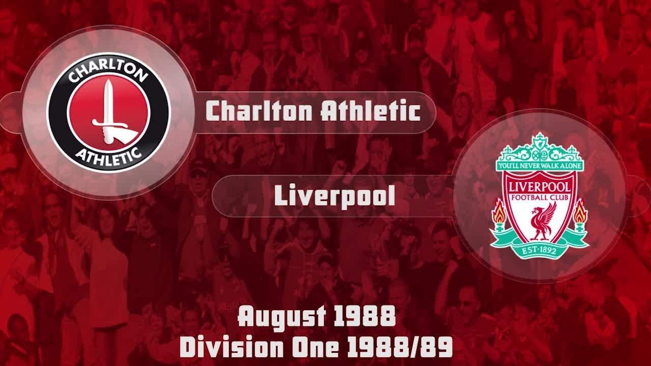 01 HIGHLIGHTS |  Charlton 0 Liverpool 3 (Aug 1988)