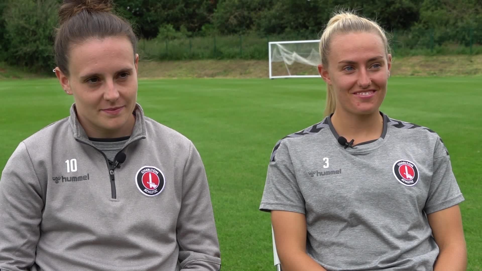 Lauren Bruton named Charlton Women's captain (August 2021)