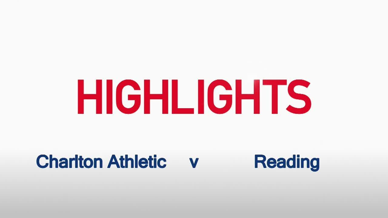38 HIGHLIGHTS | Charlton 3 Reading 4 (Feb 2016)