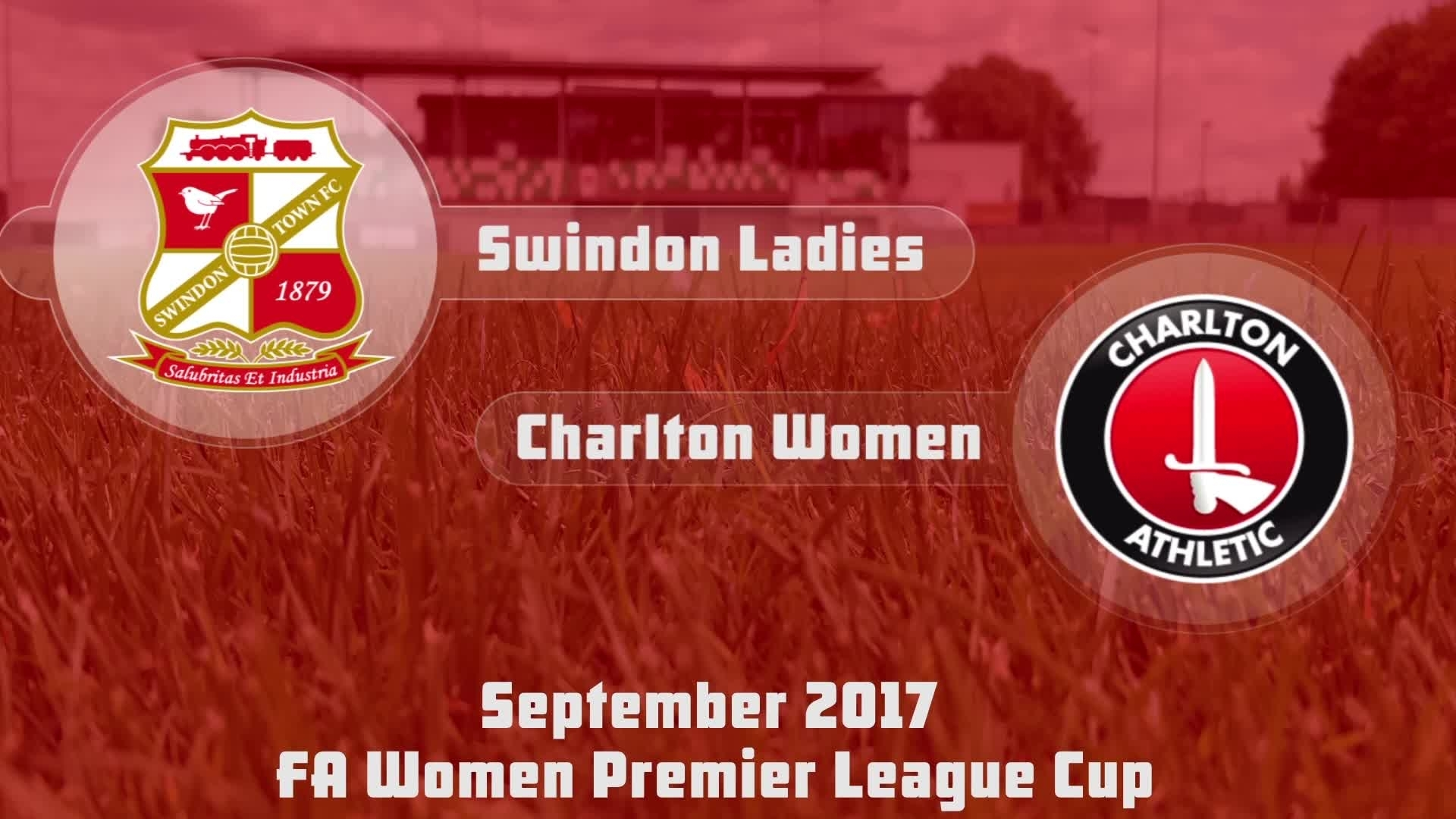 WOMEN'S HIGHLIGHTS | Swindon Ladies 0 Charlton 11