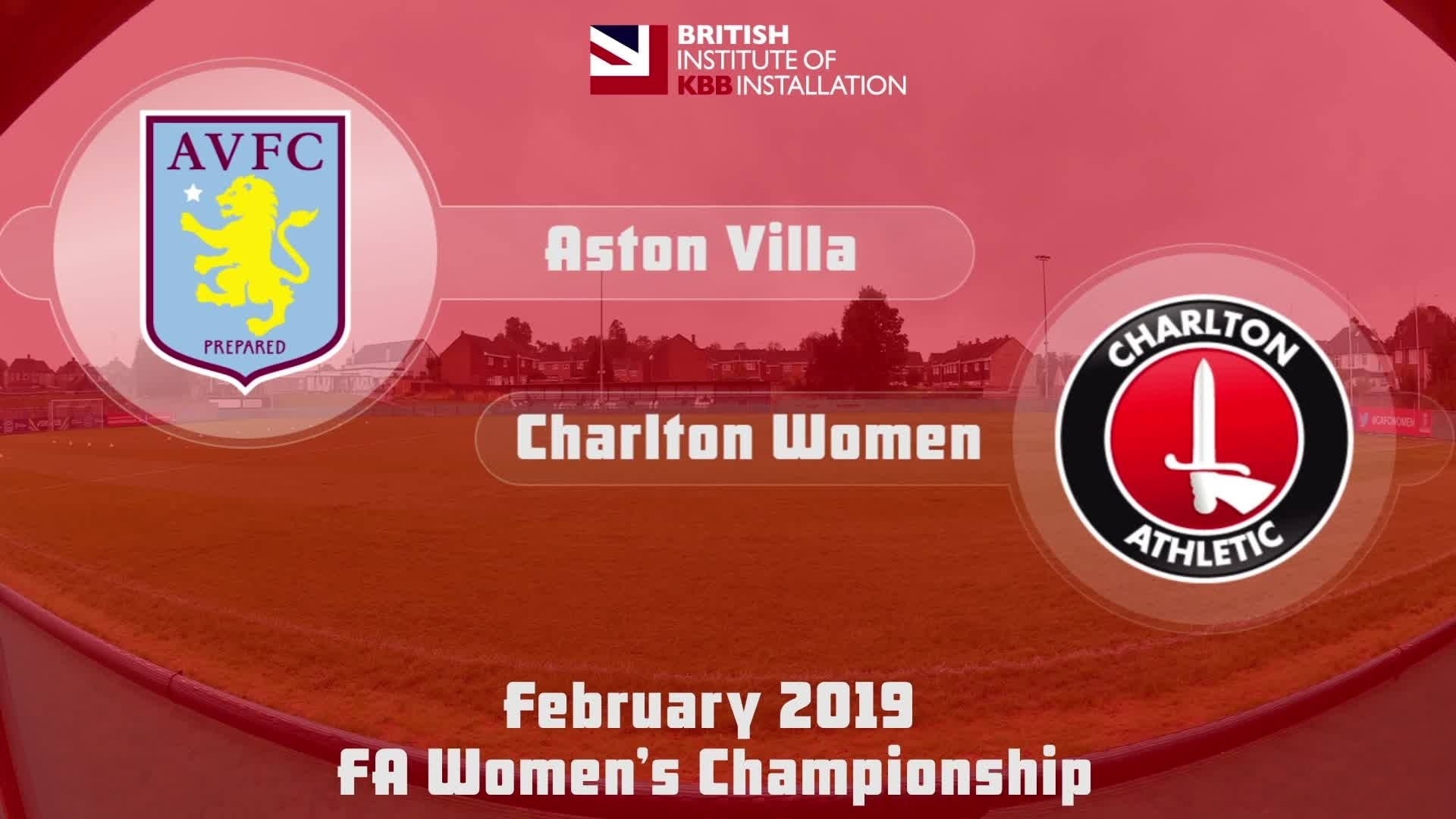 WOMEN'S HIGHLIGHTS | Aston Villa Ladies 2 Charlton Women 0 (Feb 2019)