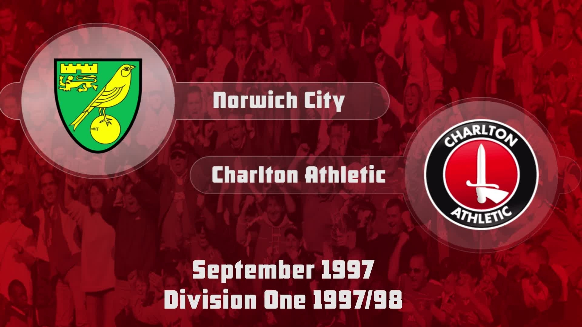 08 HIGHLIGHTS | Norwich 0 Charlton 4 (Sep 1997)