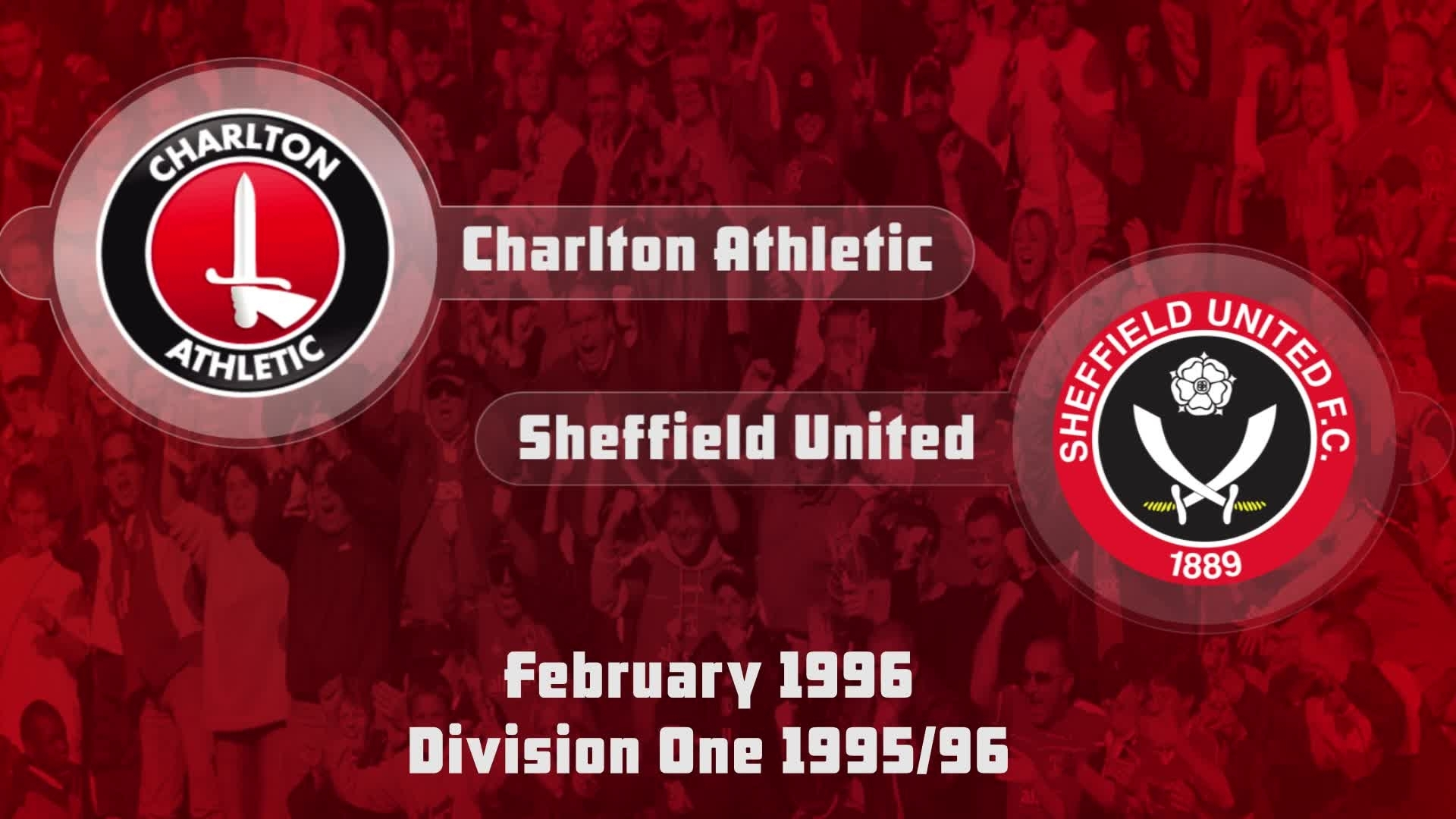 37 HIGHLIGHTS | Charlton 1 Sheffield United 1 (Feb 1996)