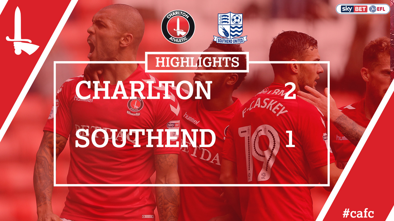 09 EXTENDED HIGHLIGHTS | Charlton 2 Southend 1