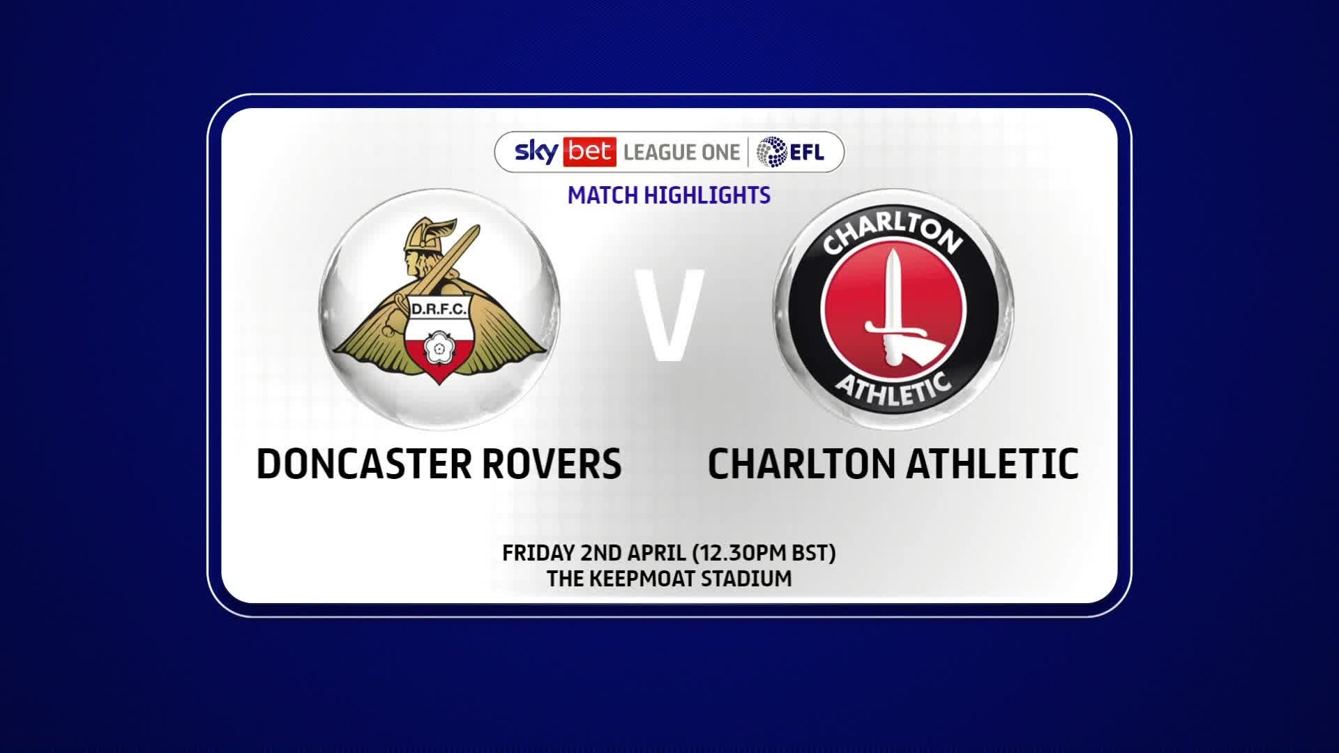 HIGHLIGHTS | Doncaster Rovers 0 Charlton 1 (April 2021)