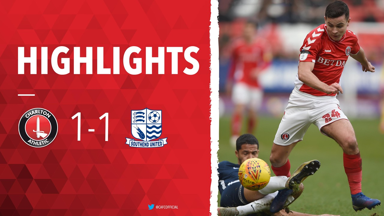 39 HIGHLIGHTS | Charlton 1 Southend United 1 (February 2019)