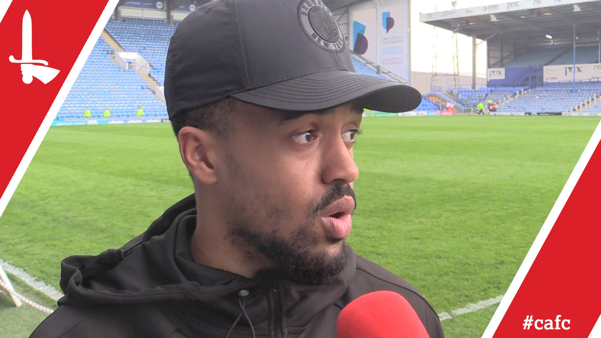 Nicky Ajose on scoring Charlton's winner at Portsmouth