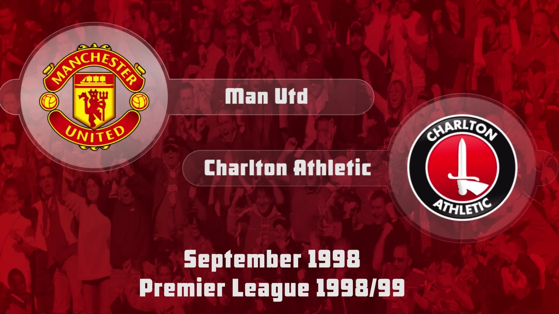04 HIGHLIGHTS | Man Utd 4 Charlton 1 (Sept 1998)