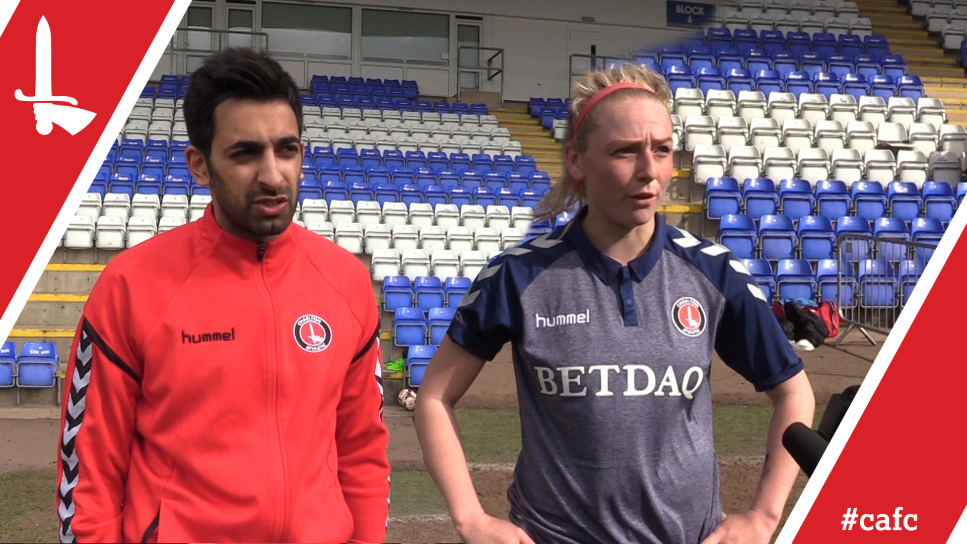 WOMEN'S REACTION | Riteesh Mishra and Hope Nash pleased with Coventry victory (April 2018)