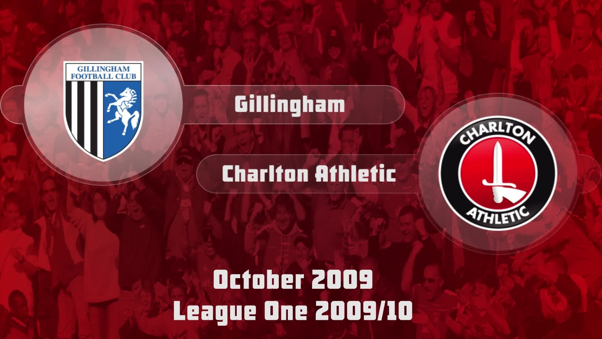16 HIGHLIGHTS | Gillingham 1 Charlton 1 (Oct 2009)
