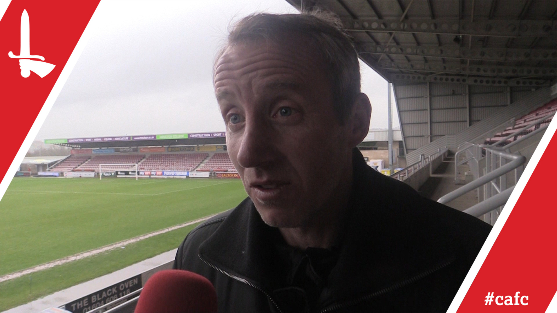 Lee Bowyer salutes Addicks after Northampton victory