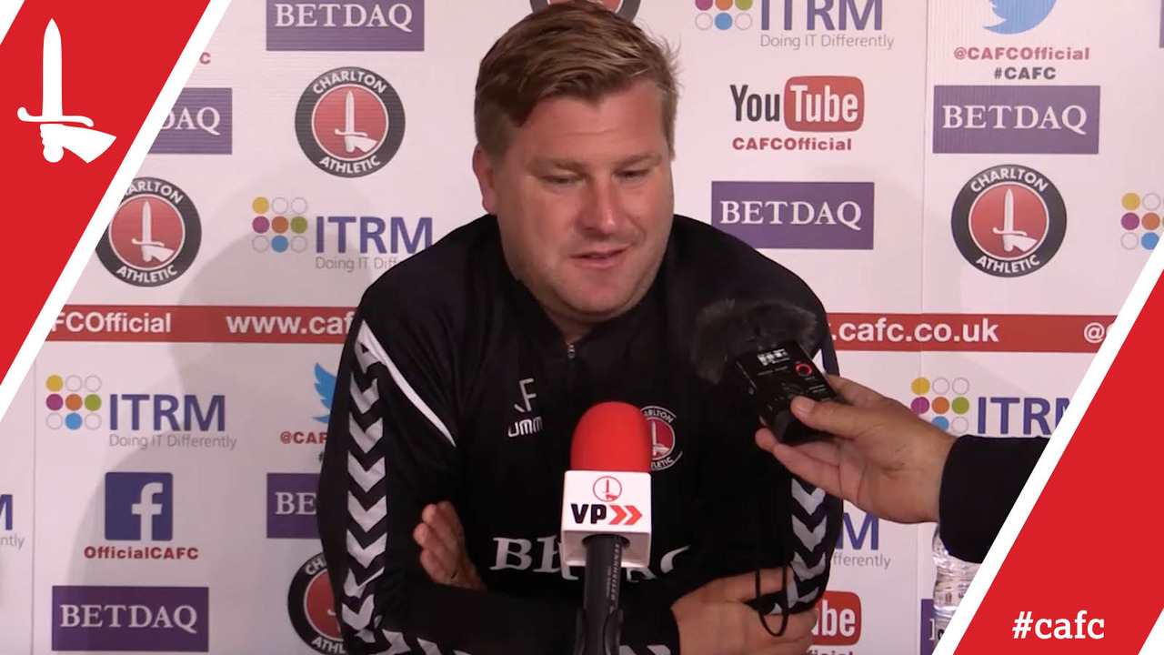Karl Robinson's pre-Plymouth Argyle press conference