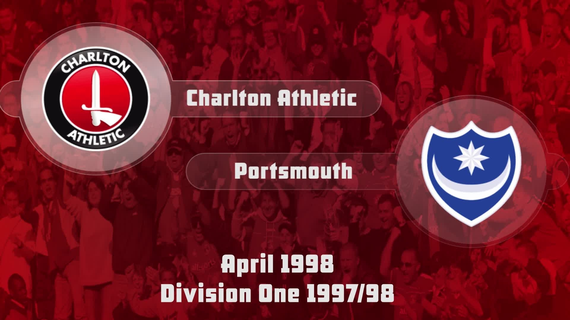 49 HIGHLIGHTS | Charlton 1 Portsmouth 0 (April 1998)