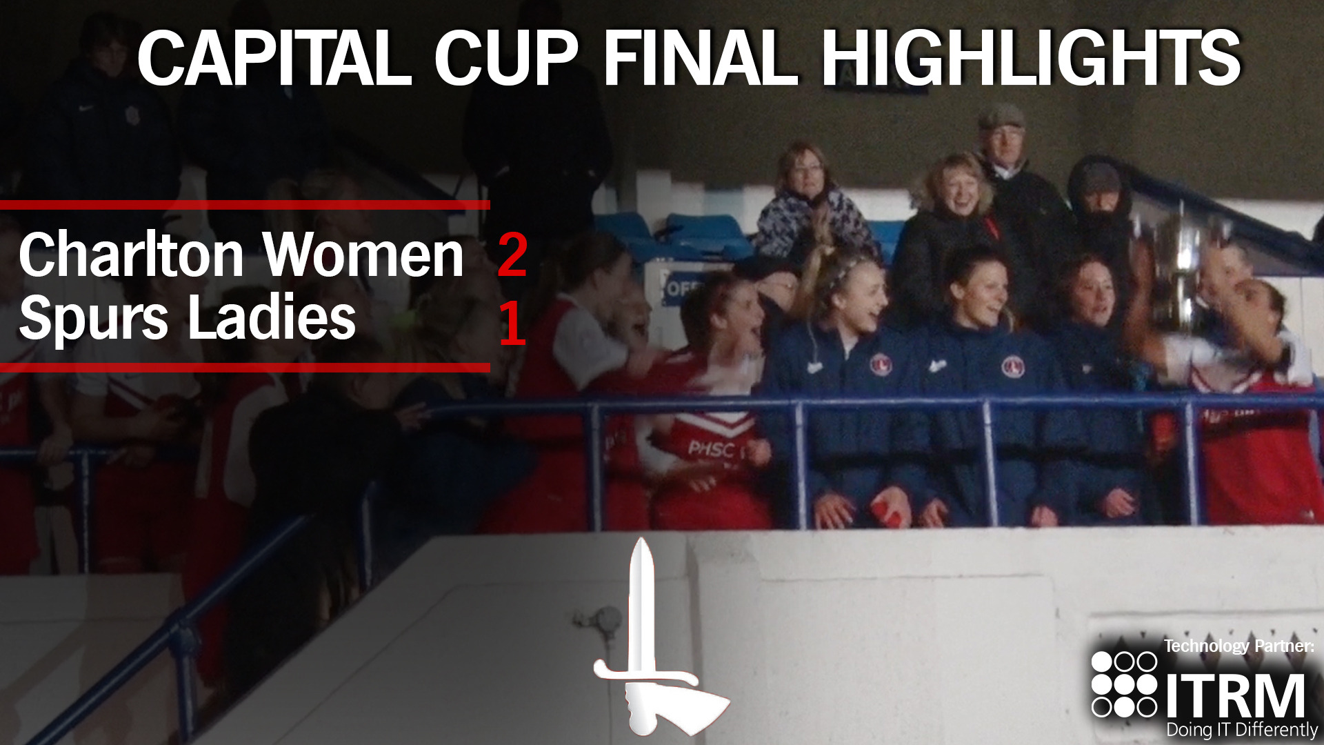 CAPITAL CUP FINAL | Charlton Women 2 Tottenham Ladies 1