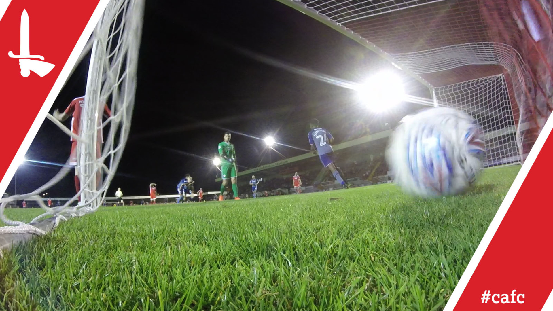 GO PRO | Ben Reeves and George Lapslie score at Crawley Town