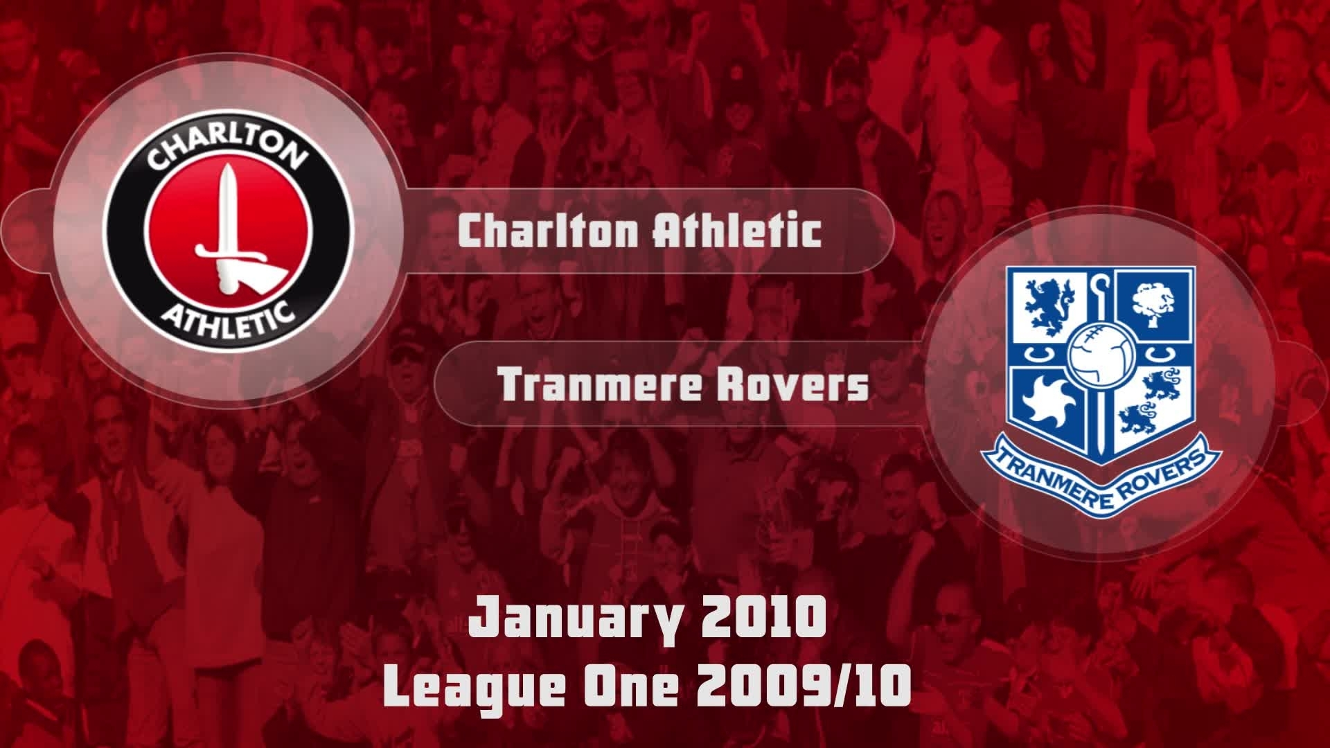 32 HIGHLIGHTS | Charlton 1 Tranmere 1 (Jan 2010)