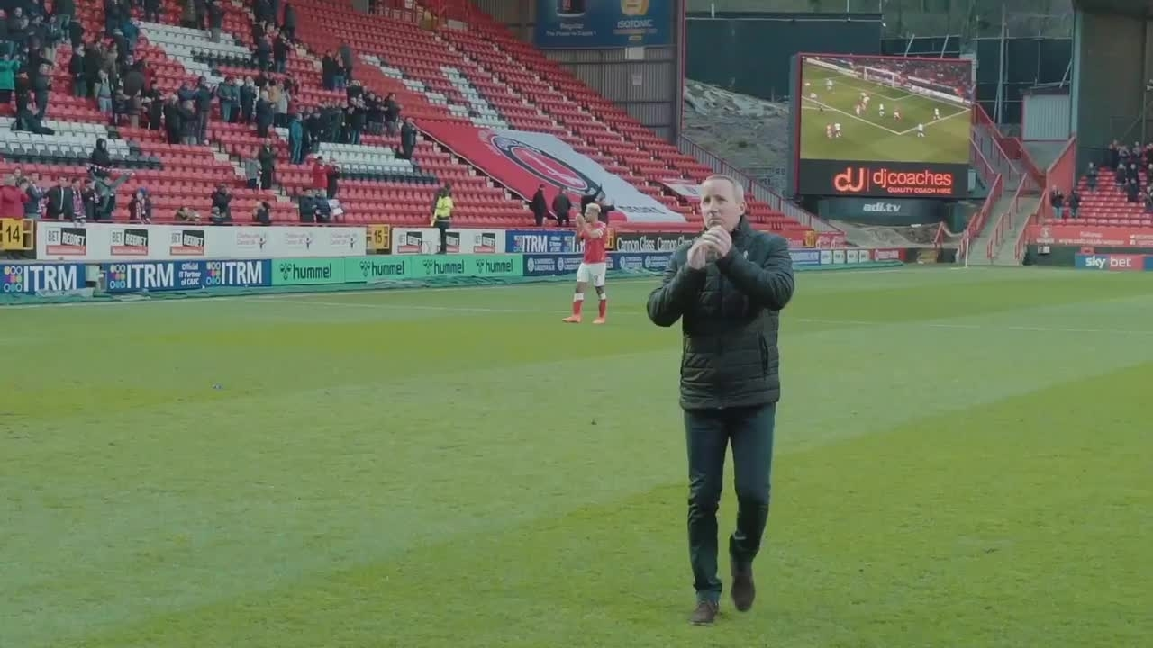 Pitchside reaction | Luton Town (February 2020)