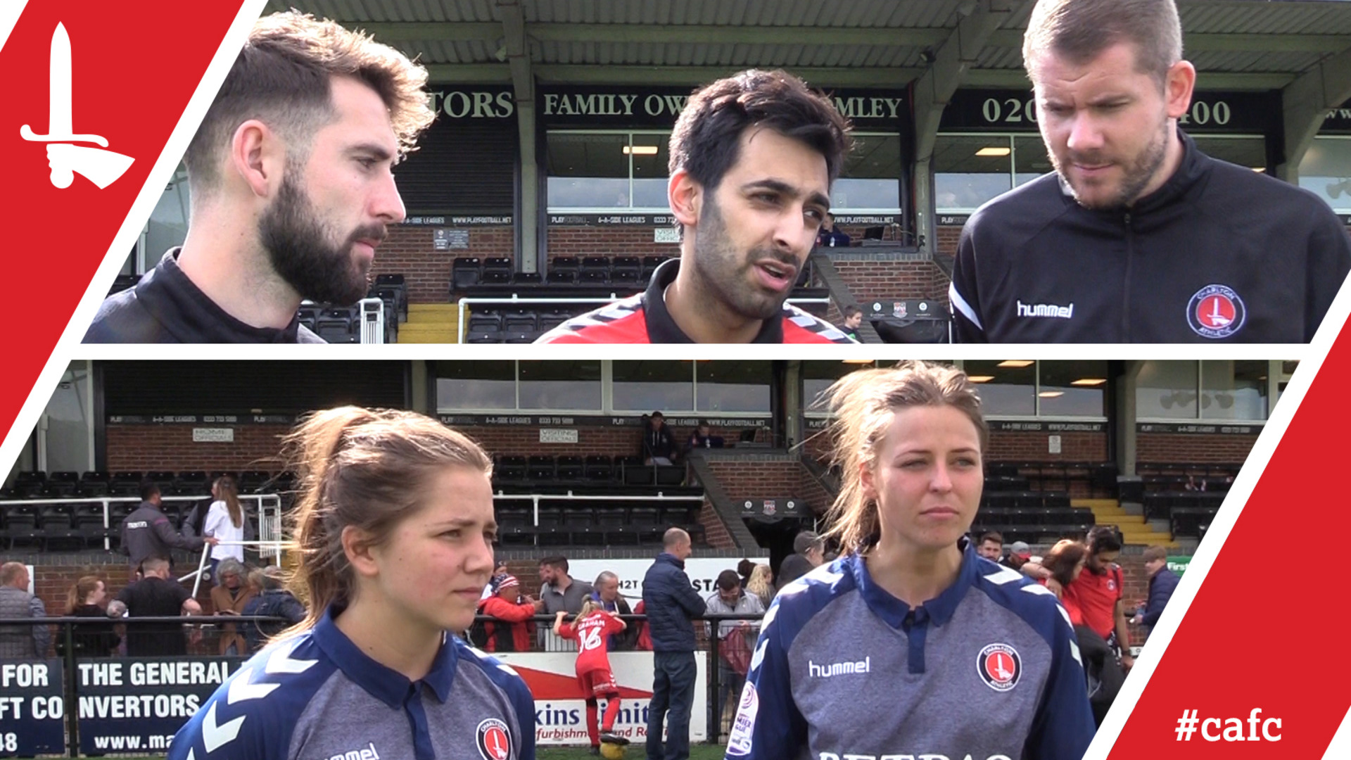 WOMEN'S REACTION | Player and management react to winning the league