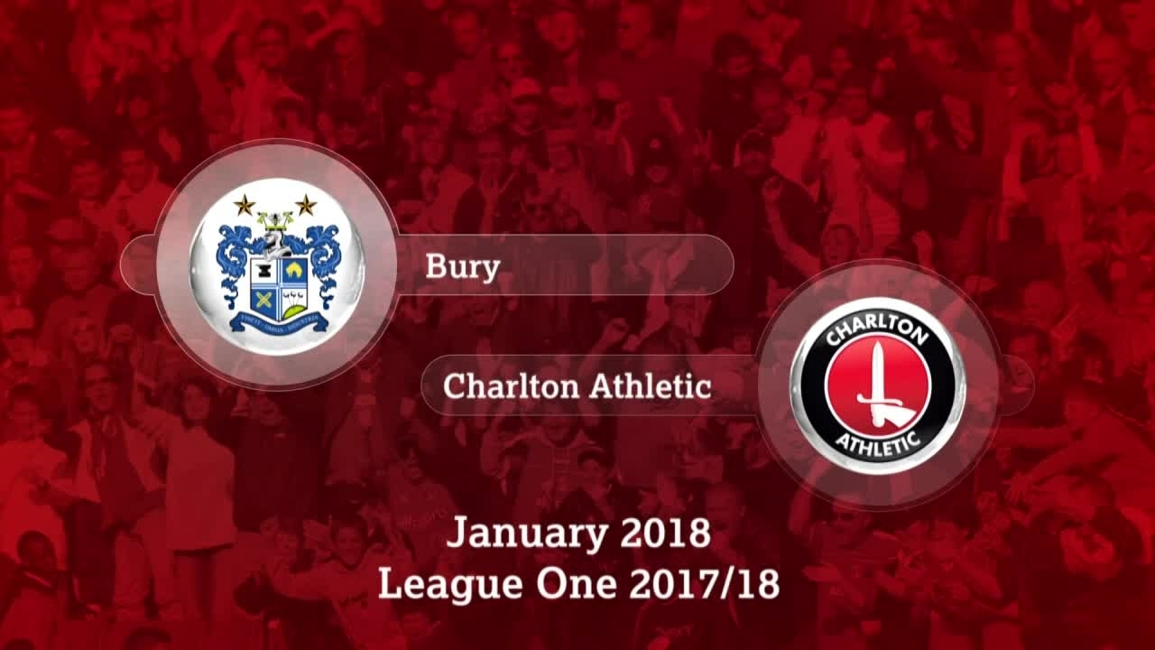 GOALS | Bury 0 Charlton 1 (Jan 2018)