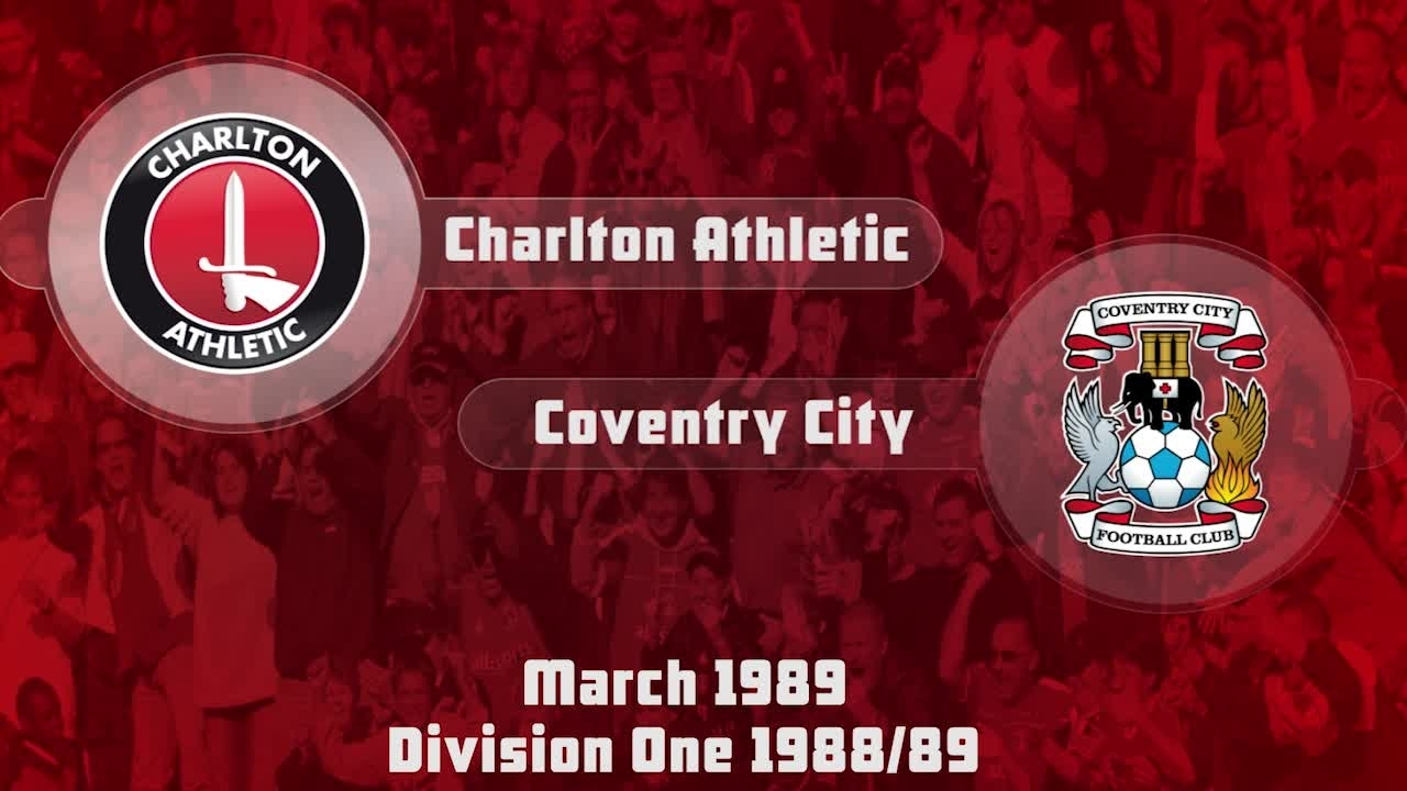 37 HIGHLIGHTS | Charlton 0 Coventry 0 (March 1989)