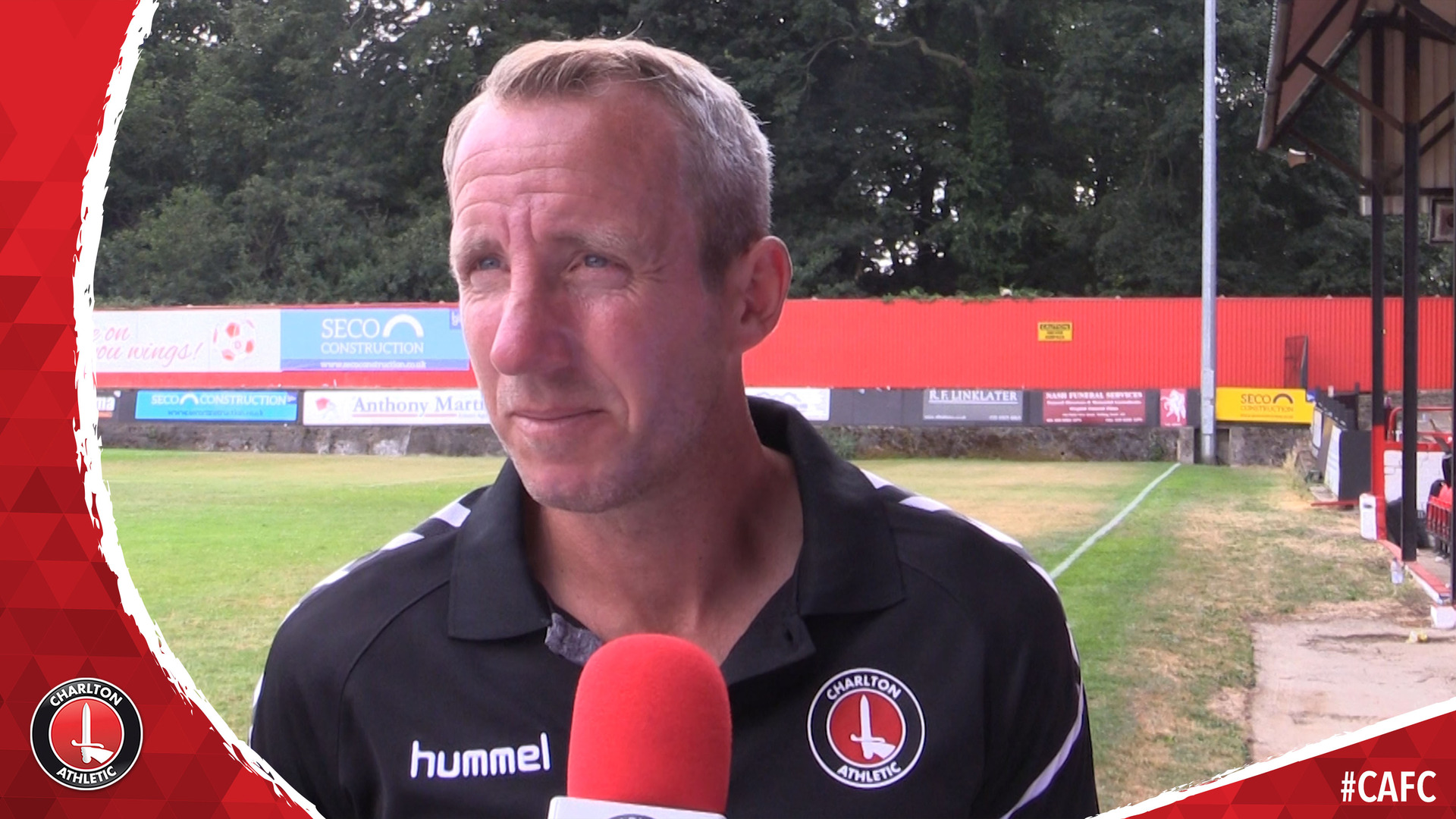 Lee Bowyer on Charlton's pre-season friendly at Welling United