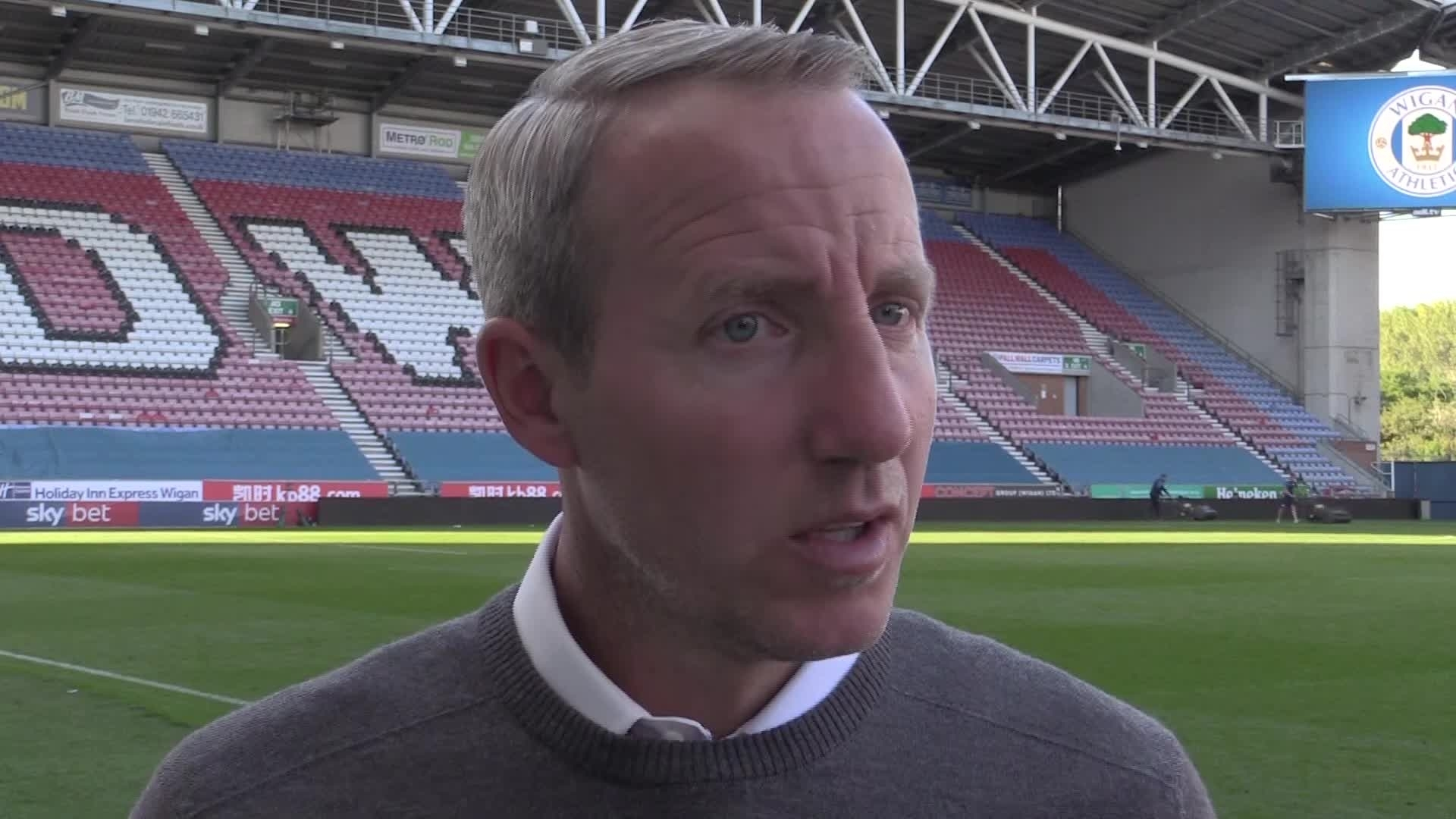 POST-MATCH | Bowyer left disappointed by defeat at Wigan (September 2019)
