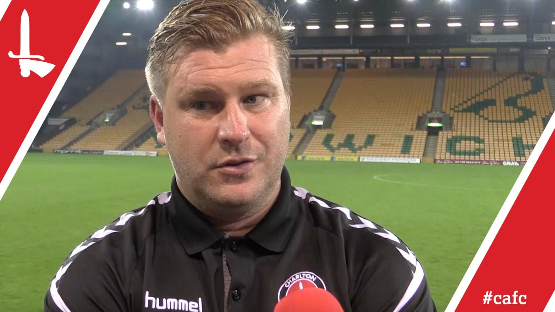 Karl Robinson reflects on Charlton's Carabao Cup exit at Norwich City